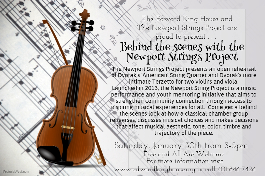 Newport Strings Project Poster