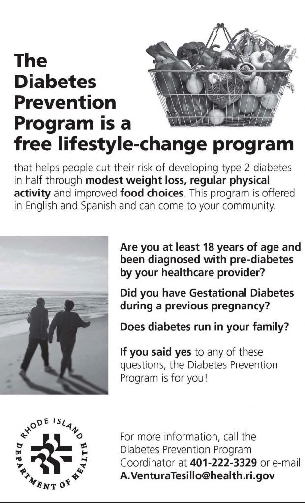 Diabetes Prevention Flyer