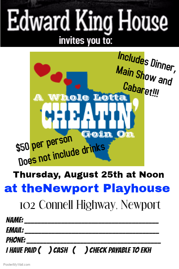 Newport Playhouse Registration