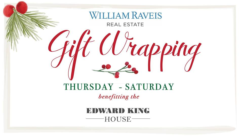 Gift Wrapping to Benefit the EKH – Edward King House
